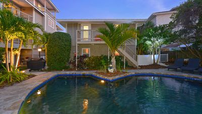 """Photo for """"Safe & Clean"""" Honeymoon Suite, - only 60 steps to the Siesta Key Public Beach -"""