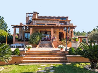 Photo for Alzina-  Beautiful country house, with pool close to Palma, for up to 12 people
