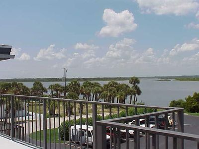 Photo for River view 2 bedroom 2 bath condo - Watch the dolphins and manatess play  CI-B302