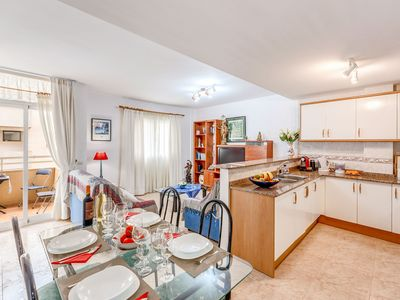 Photo for Apartment Close to the Beach with Wi-Fi, Air Conditioning & Balcony