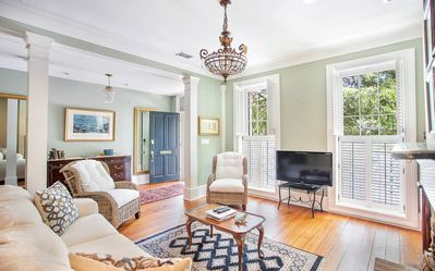 Photo for Stay with Lucky Savannah: Sprawling Estate w/ Private Balconies, Soaking Tub