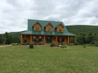 Photo for Margaree Valley Log House