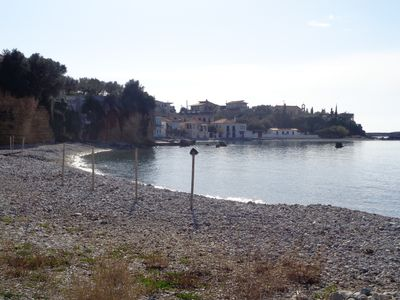Photo for Leonidas 2 bd apartment at Archontiko Avias 20 m from the beach.