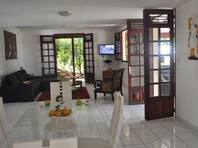 Photo for Villa large furnished T3 Orchids surrounded by a beautiful garden with a large terrace
