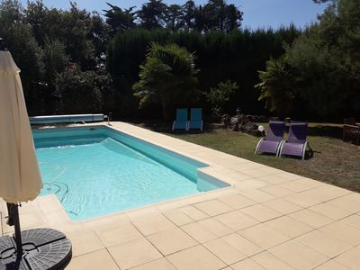 Photo for Superb charming villa with private pool. 10 minutes from La Baule