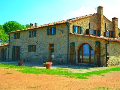 Photo for A beautiful house with stunning views, large private pool, near Pisa