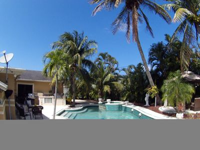 Photo for beautiful family 3/2 with Private Backyard and pool!