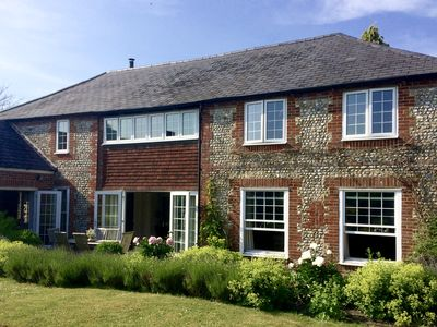 Photo for A 5 bedroom converted barn in rural West Sussex between the sea and the Downs