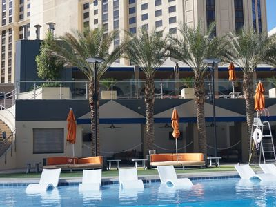 Photo for Hilton Grand Vacations on the Blvd.Luxury 2 bdrm, slps 6, July 27-Aug.3, $599/WK
