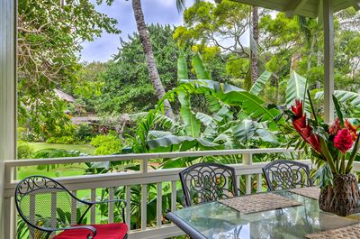 Etonnant Garden View 1 Bd 2 Ba Cottage With Resort Pool, Sauna, Tennis For Two    Poipu