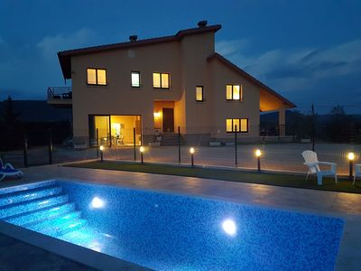 Photo for Holiday villa with pool in Cardona