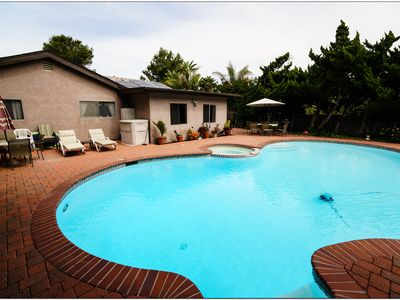 Photo for Spacious New Vacation House w/privacy and a pool. Low intro rates!