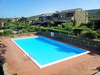 Photo for One bedroom Apartment, sleeps 4 in Stintino with Pool