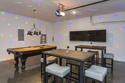 Game Room: Lots of fun with Billiards (Pool) and much more...