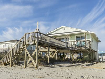 Photo for Absolute Beach: 4 Bed/2 Bath Oceanfront Home