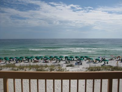 What a view! From balcony of Pelican Beach #310!