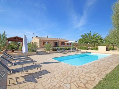 Photo for Finca Can Juan - AirCond - Wi·Fi - MODERN - Country house for 8 people in Campos