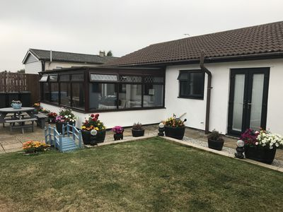 Photo for 3BR Bungalow Vacation Rental in St Merryn, England