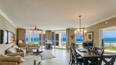Photo for Portofino Tower 4 - Unit 1404 - Spectacular 3BR Elite Rated Skyhome with Great Gulf View