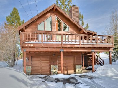 Photo for Vacation Cabin with Ski Hill Views and Walking Distance to Cross County Ski!