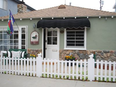Photo for Balboa Island Cottage 2 Bdm/2 Bath - Duck House