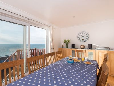 Photo for Spacious detached house with panoramic sea views