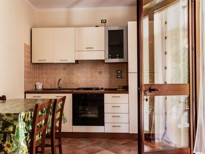 Photo for La Palella, secluded two-room apartment with patio near the beaches