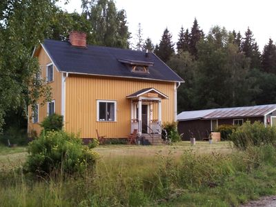 Photo for Detached Holiday Home In Munkfors near Forest
