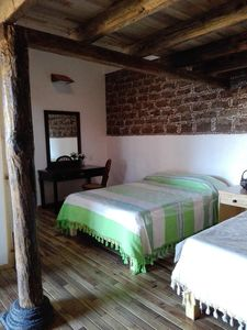 Photo for Cedro comfortable and cozy bedroom in 17th century house at 30 min. of Toluca