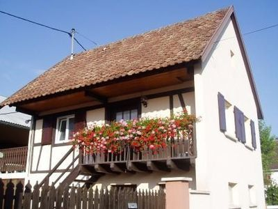 Photo for New flat in a typical village near Colmar and alsatian vineyard