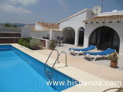 Photo for Villa 900m from the beach at Moraira on the Costa Blanca