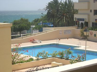 Photo for SEAFRONT APARTMENT, FAB VIEW AND POSITION, 50 MTRS TO BEACH SPECIAL WINTER RATES