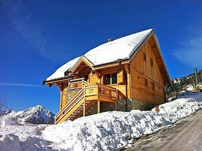 Photo for Holiday house Vaujany for 10 persons with 4 bedrooms - Holiday house
