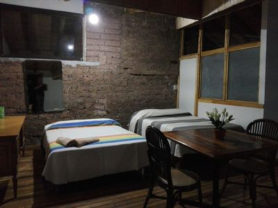 Photo for COMFORTABLE AND WARM OYAMEL DEPARTMENT IN ANTIGUA HOUSE AT 30 MIN. FROM TOLUCA