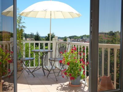 Welcome to our apartment Matisse with its lovely view over Sarlat