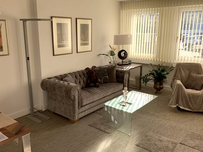 Photo for Modern holiday apartment near Dusseldorf in a quiet location