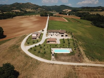 Photo for La Collina del Sole Beautiful Umbrian Property with Infinity Pool for 11 Guests