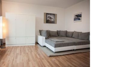 Photo for Cozy apartment right on the ski slope