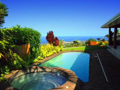 Photo for Spectacular Asian influenced Ocean View home with private pool & hot tub