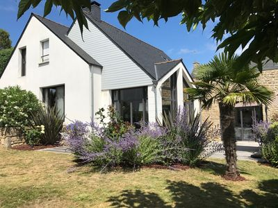 Photo for Architect house - walled garden - 8 pers - CARNAC - near beach and village