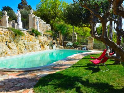 Photo for Villa Giulia with private pool air conditioned bbq parking pets allowed