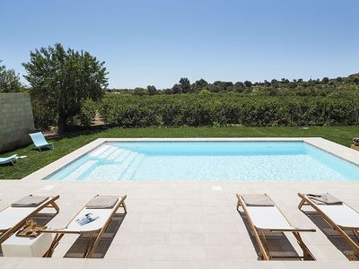 Photo for comfortable aparment near Noto, with shared swimming pool and terrace
