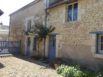 Photo for Village House In Loire With Lovely Gardens