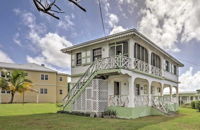 Airy Charlestown Home Minutes from Nevis Beaches!