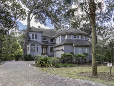 Photo for Exquisite 5 Bedroom Home in Palmetto Dunes - Private Pool - Close to the Beach!
