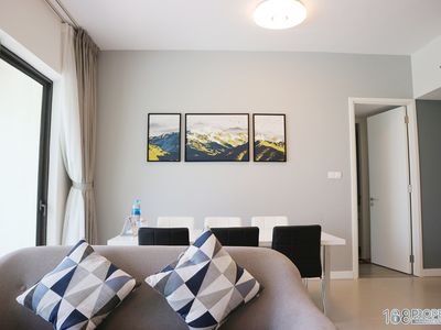 Photo for Modern lifestyle 02BR flat in Thao Dien /FREE mineral pools, gym, sauna, BBQ