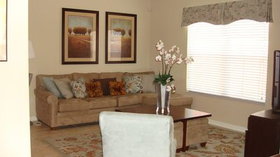 Photo for Near Disney World - Paradise Palms Resort - Amazing Contemporary 4 Beds 3 Baths  Pool Villa - 4 Miles To Disney
