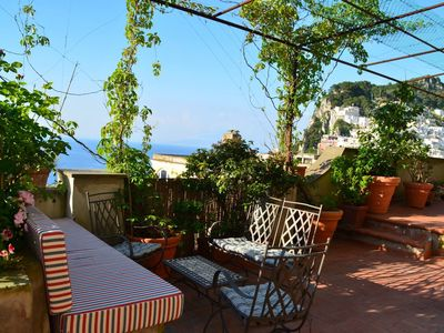 Photo for Apartment terrace and sea view in the center