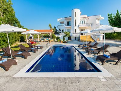Photo for close to sandy beach in Faliraki Villa with private pool