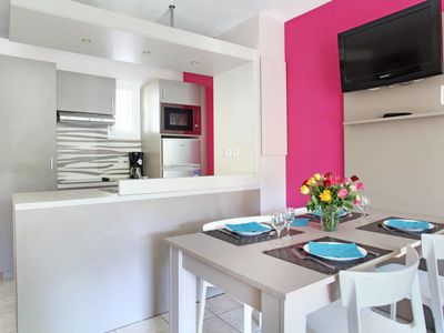 Photo for 2 bedroom Apartment, sleeps 6 in La Bouillabaisse with Pool, Air Con and WiFi